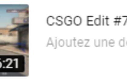 Edit : BestOf #2 CSGO