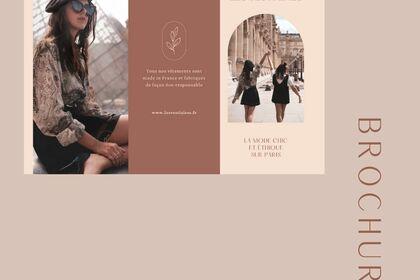 Brochure fictif