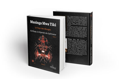 Miniature de livre - création de couverture
