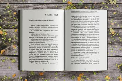 Mise en page d'un livre
