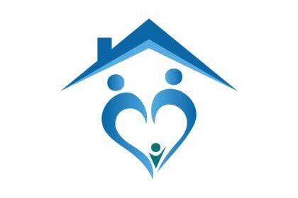 Logo maison famille