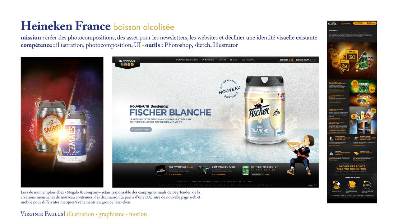 Heineken France // déclinaison & création contenus