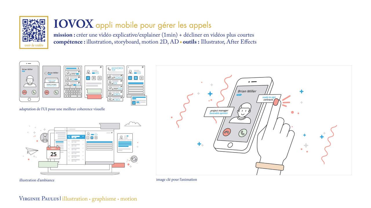 Iovox // mission : créer une vidéo explainer 1min
