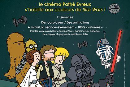 Affiche évènement Star Wars - Cinéma Pathé (27)