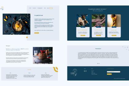 Site web - L'Atelier du Gout de Soi