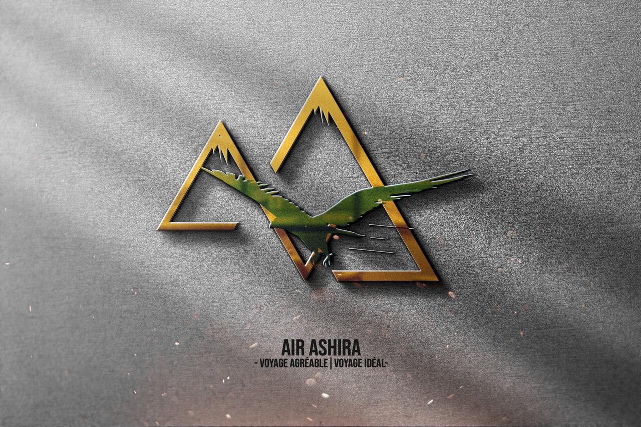 Air Ashira   Logo Voyage