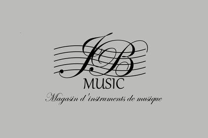 Enseigne pour magasin de musique