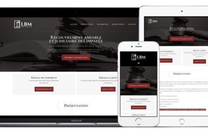 Site internet - LBM Contentieux