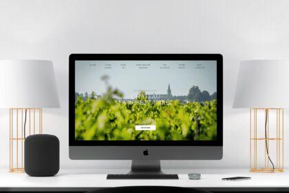 Site internet - Château La Rose Pourret