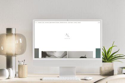 Site internet - Aline De Lima