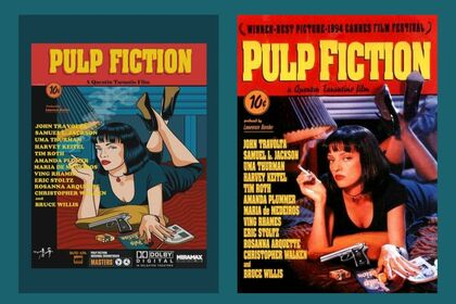 "Poster ""Pulp Fiction"""