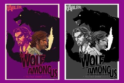 Illustration The Wolf Among Us