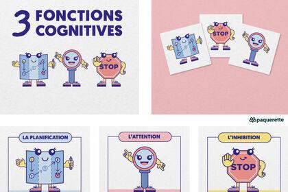Icônes fonctions cognitives