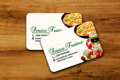 Carte Service Traiteur