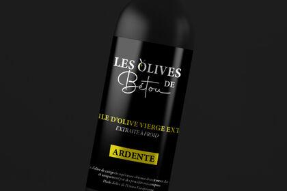 Packaging Les olives de Bétou