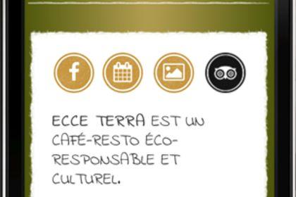 Ecce Terra Version Mobile