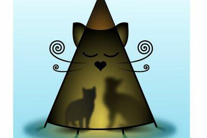Logo / illustration - le Tipi des Chats