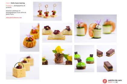 Petits-Fours Catering - Photos de produits