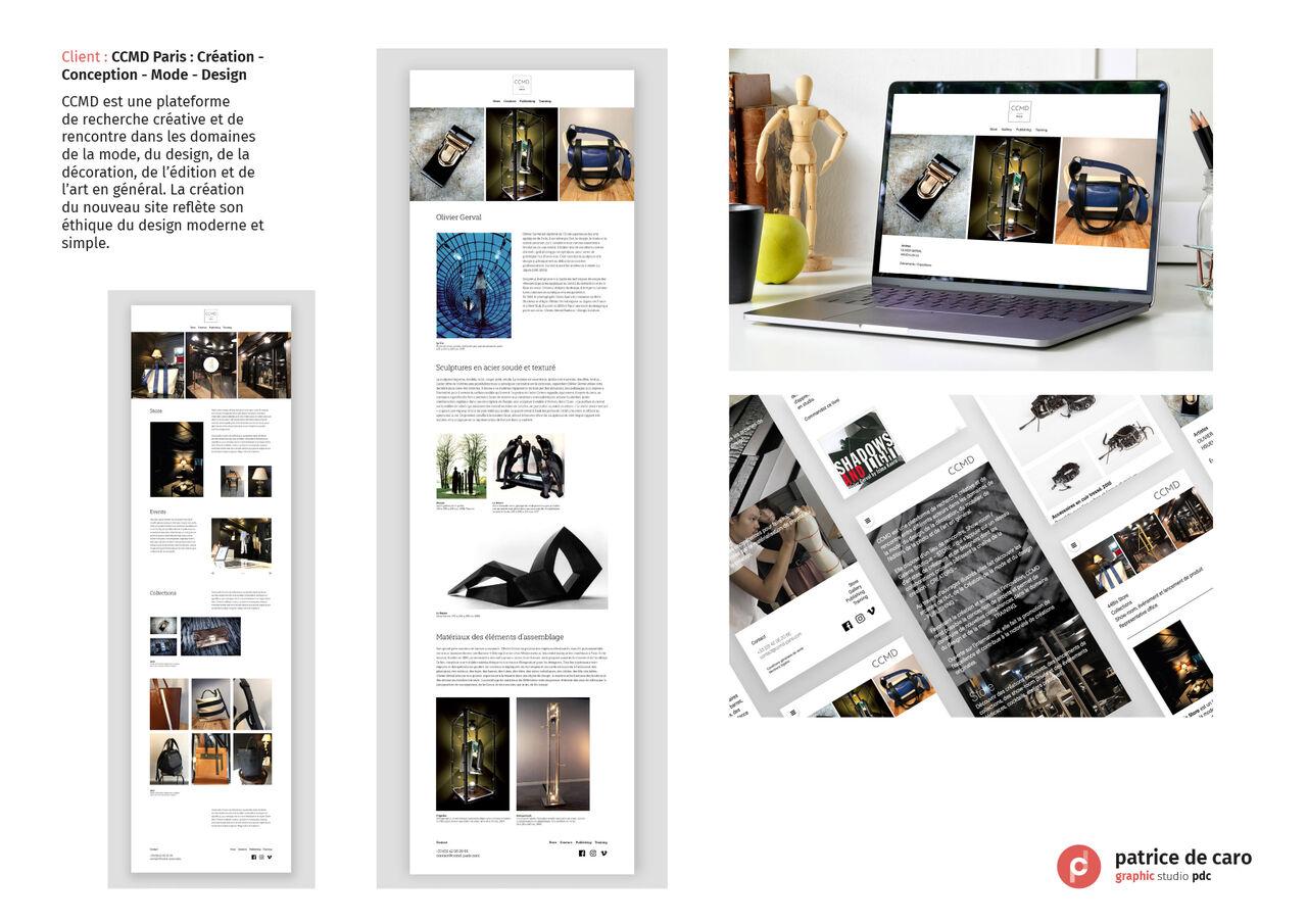 CCMD Paris - Création - Conception - Mode - Design