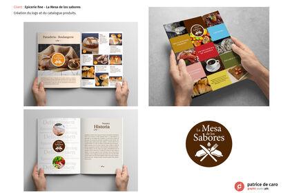 Catalogue de produits alimentaires