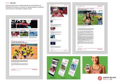 Sportiva Latina - site vitrine