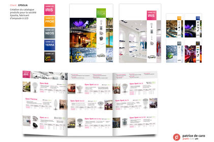 Catalogue produits Epsolia