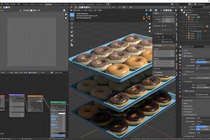 Création et modélisation de Donuts.