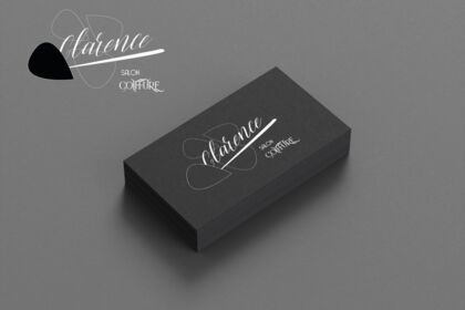 Création d'un logo + carte de visite