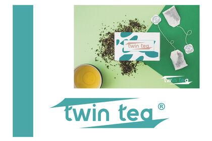 Réalisation d'une identité visuelle / Twin tea.