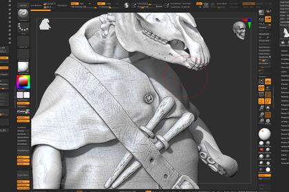 Réalisation personnage 3D