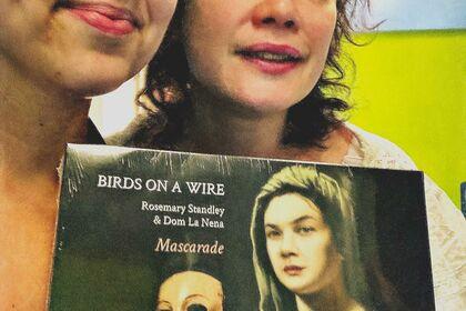 Rosemarie Standley et Dom la Nena / cover album