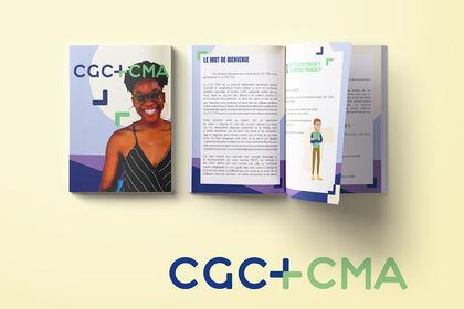 Création d'un livret / CGC CMA FRANCE.