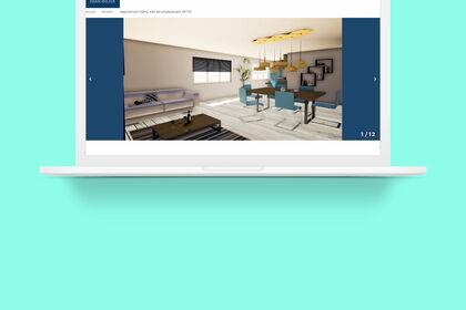 Création 3d / V.Fénéon Immobilier.