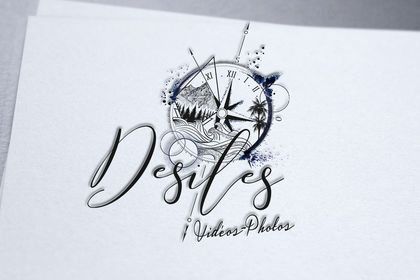 Logo créer pour vidéaste-photographe