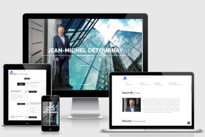 Création de site web cv