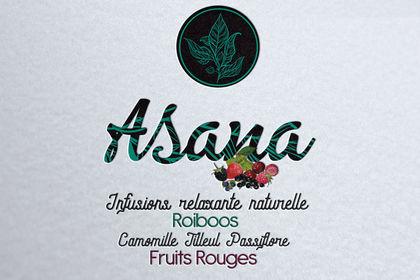 Logo pour boisson infusion thé