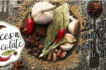 Bannière facebook spice n chocolate blog de cuisin