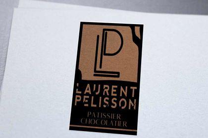 Création logo Pâtissier Laurent Pelisson