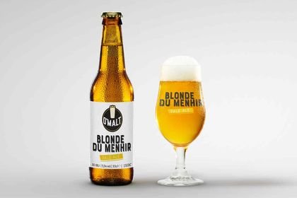 Création étiquette bière O'malt Blonde