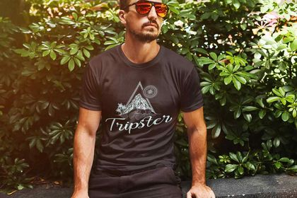 T-shirt Tripster vêtements travellers