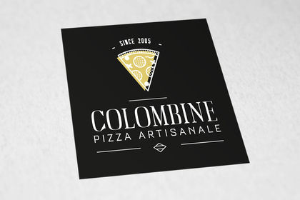 Logo pizza Colombine, région Nantes