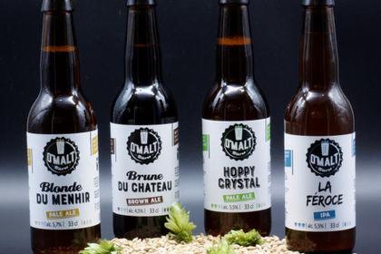 Création étiquette de Bière