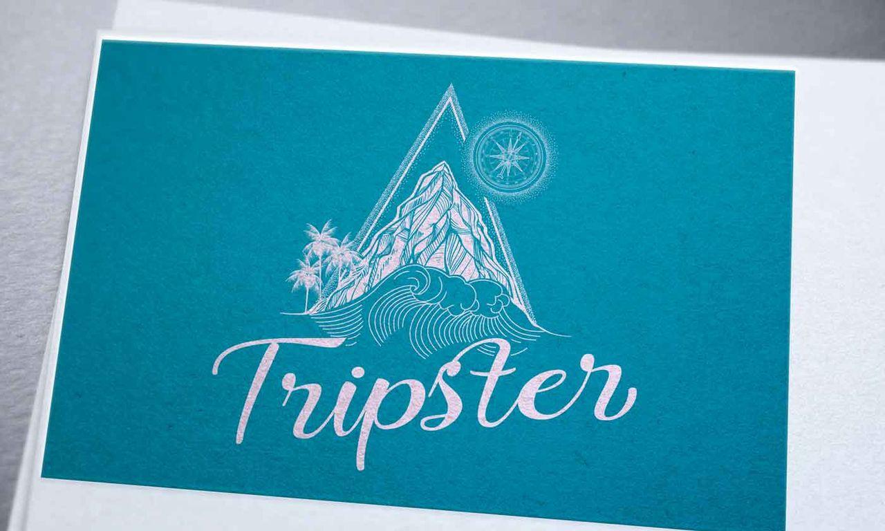 Création logo tripster