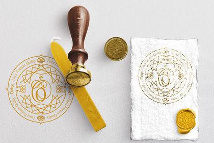 Création d'un logo pour bouchon luxe huile olive