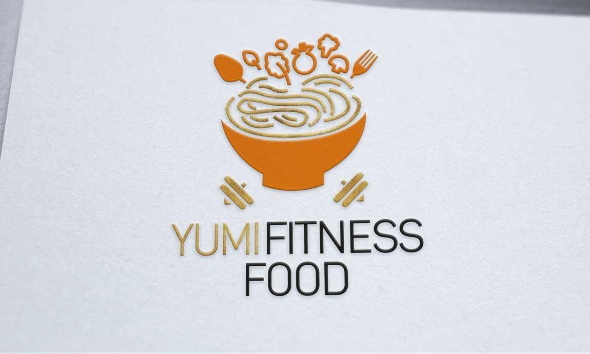 Création logo Yumi fitness Food