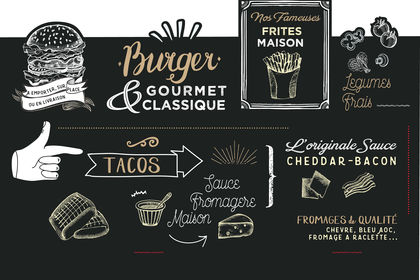 Design enseigne so grill tacos