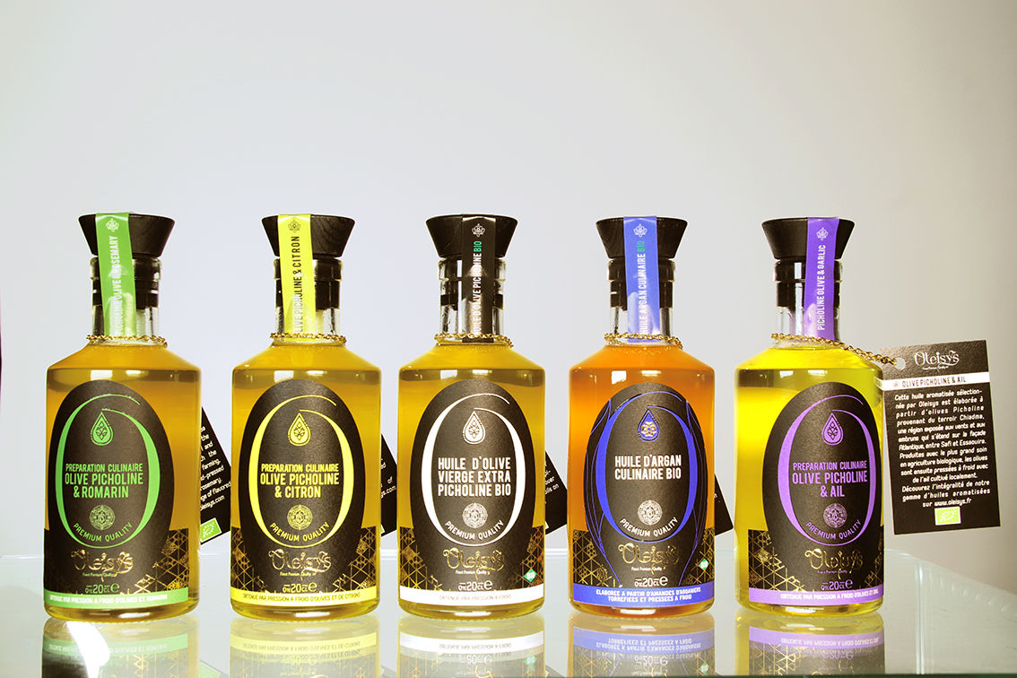 Création gamme huile olive aromatisés