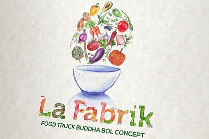 Création Logo Restaurant La Fabrik