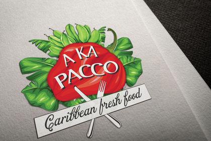 Création Lo go Food Truc Restaurant Caribbean