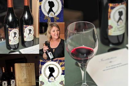 Création étiquette vin artistique Millésime